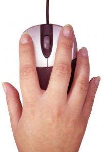 Com agafar el ratolí correctament